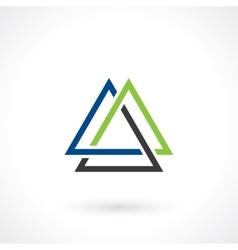 Triangular shape vector