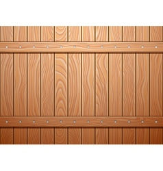Wood wall texture background vector