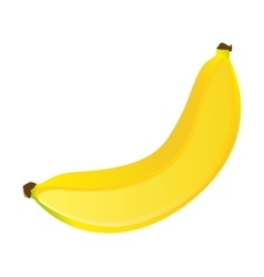 Banana fresh fuit healthy isolated icon vector