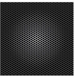 metallic grill perforated background design vector image vector image