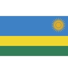 Rwanda flag image vector image