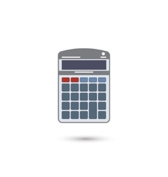 Calculator flat icon vector