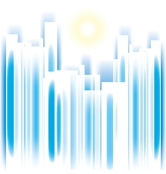 Abstract cityscape vector