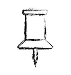 Figure pushpin symbol icon design vector