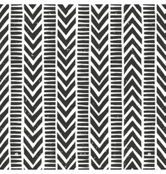 Hand drawn tribal pattern seamless vector