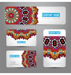 Set with corporate identity templates vector image vector image