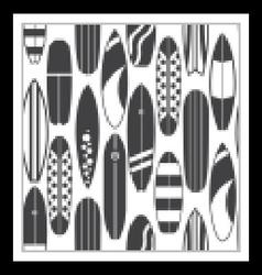 Surfing Pattern Background vector image
