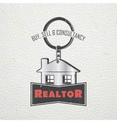 Real estate agency buy sell and consultancy vector