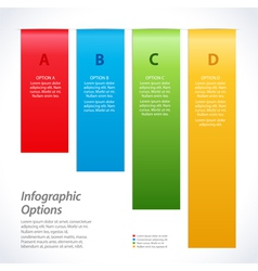 infographic background banners vector image