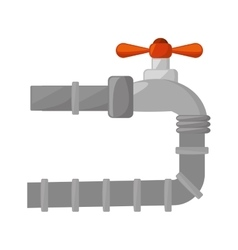 oil industry pipeline isolated icon vector image