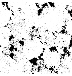 Black spattered background with blots and spots vector