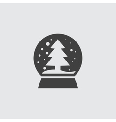 Snowglobe icon vector