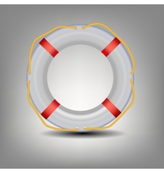Life buoy icon vector