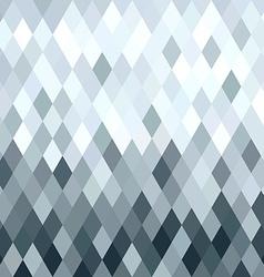 Silver metal rhombus geometry seamless pattern vector