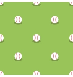 Baseball seamless pattern sport background vector