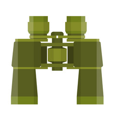 binoculars travel or military icon vector image vector image