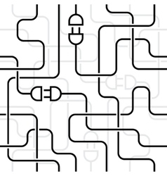 Electrical wiring vector