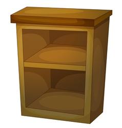 shelf vector image vector image