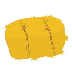 Hay icon farm animal concept graphic vector