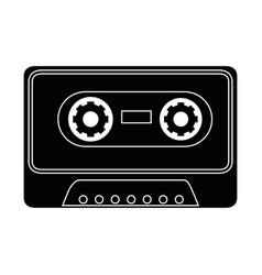 casette icon image vector image