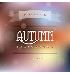 Creative abstract natural background vector image vector image