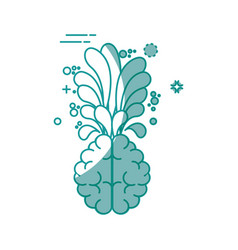 Creative mind concept vector