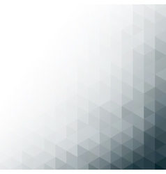 Abstract gray geometric technology background vector