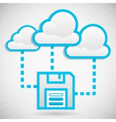 Cloud data storage vector