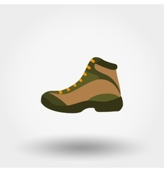 Boot Icon Flat vector image