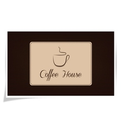 Coffe house vector image vector image