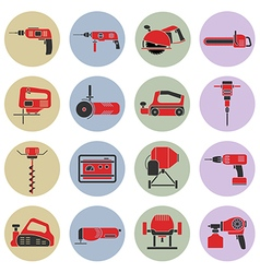 Electric power tools vector