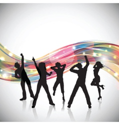 party people background 0102 vector image vector image
