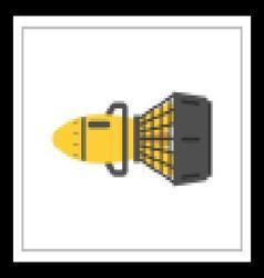 Underwater Diving Machine vector image vector image