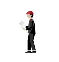 Worker management business multitasking concept vector