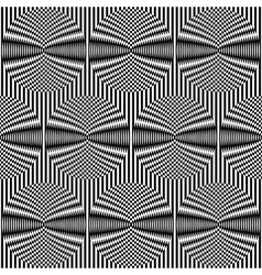 Optical art background vector