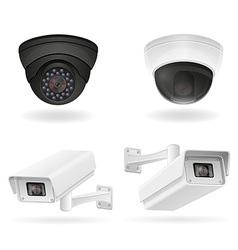 Surveillance cameras 07 vector