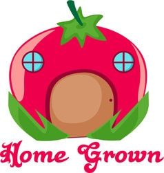 Home grown vector