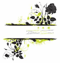 background flower vector image