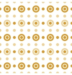 Beige and gold circles vector