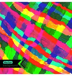 Diagonal watercolor stripes backdrop with vector