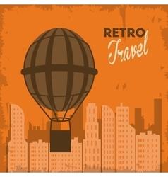 Travel design tourism icon vintage vector