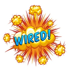 Wired vector image