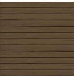 Abstract wood plank in horizontal dark brown vector