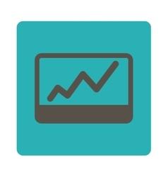 Stock Market icon vector image