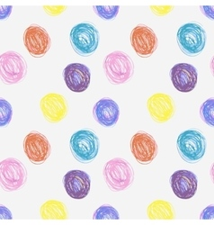 Hand-drawn seamless pattern vector