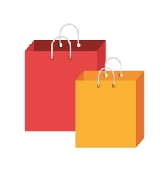 Colorful shopping bags graphic vector