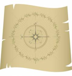 compass map vector image