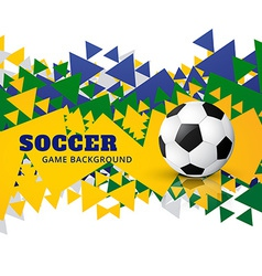 creative american football design vector image