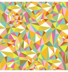 Retro Triangles Pattern vector image vector image