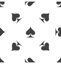 Spades pattern vector
